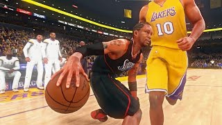 getlinkyoutube.com-NBA 2K16 - Allen Iverson vs Tyronn Lue