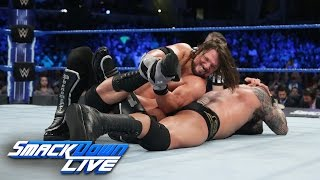 Randy Orton vs. AJ Styles - Winner to headline WrestleMania: SmackDown LIVE, March 7, 2017 width=