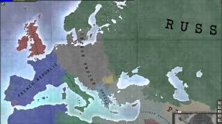 getlinkyoutube.com-Free For All 1914: A Hearts of Iron III Custom Timelapse