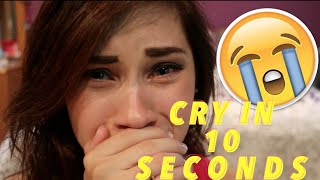 getlinkyoutube.com-HOW TO CRY IN 10 SECONDS / ACTING TIP | JENNA LARSON