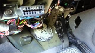 getlinkyoutube.com-Chevy Blend Door Actuator Replacement - Part 1