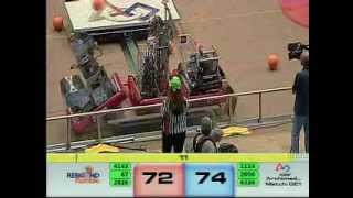2012 FRC Championship - Archimedes Division - Match 21 Final 1-3