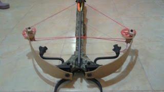 getlinkyoutube.com-change crossbow horton 225lb recurve to compound 180 lb