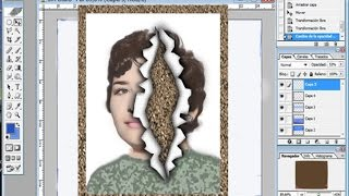 getlinkyoutube.com-Tutorial papel roto con Photoshop