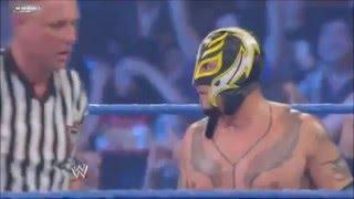 Team Rey Mysterio vs Team Wade Barrett Highlights