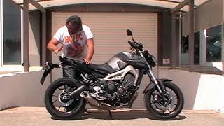 getlinkyoutube.com-YAMAHA MT09 .KOKKINA FEGARIA TEST