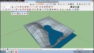 getlinkyoutube.com-How to Make Basic Terrain in SketchUp