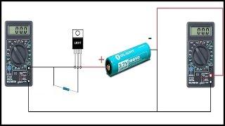 Узнать ёмкость аккумулятора без умной зарядки!
