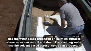 getlinkyoutube.com-Non Skid Paint for Boats, RVs & More