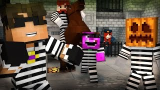 getlinkyoutube.com-Minecraft Mini-Game: COPS N ROBBERS! (MAX HAS A HORSE!) /w Facecam