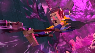 getlinkyoutube.com-Minecraft | Hello Neighbor - SAVING THE NEIGHBOR! (Secret Portal Ritual)