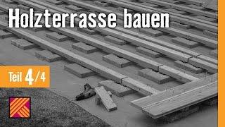 getlinkyoutube.com-Holzterrasse bauen - Kapitel 4 : Terrassendielen verlegen | HORNBACH Meisterschmiede