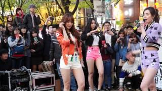 getlinkyoutube.com-[15.04.17] 홍대 게릴라 ( 달샤벳 아영 / I'm not ) 직캠