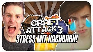 getlinkyoutube.com-STREIT & STRESS MIT DEN NACHBARN | CRAFT ATTACK 3 #5 MIT ROTPILZ | REWINSIDE