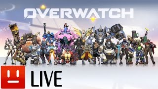 getlinkyoutube.com-OverWatch【Live配信】
