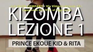 getlinkyoutube.com-Lezione n° 1 di Kizomba - Prince Ekoue kid