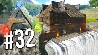 getlinkyoutube.com-Ark Survival Evolved - EPIC WATERFALL BASE! (ARK: Survival Evolved)