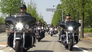 "getlinkyoutube.com-ハーレーチーム ""Deep Stroke"" PV Vol.2 (2014)【Harley-Davidson ツーリング】"