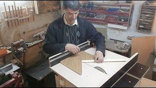 getlinkyoutube.com-Самодельный мобильный распиловочный стол. Homemade Table Saw.