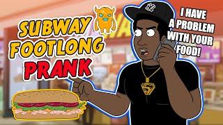 getlinkyoutube.com-Subway Footlong Prank (ft. Tyrone) - Ownage Pranks