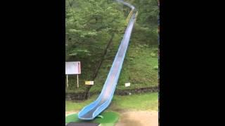 getlinkyoutube.com-Epic Playground Slide Sends People Flying