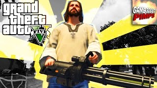 Jesus With a Mini-Gun - GTA For Pimps (Modded!) - (Ep 14)