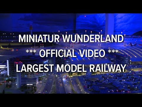 Miniatur Wunderland *** official video 2012 *** largest model railway / railroad of the world