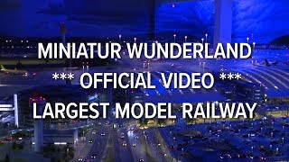 getlinkyoutube.com-Miniatur Wunderland *** official video *** largest model railway / railroad of the world