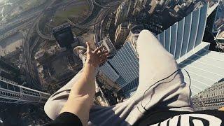 getlinkyoutube.com-Mustang Wanted | Dubai | crane 452 meters