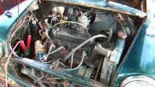 getlinkyoutube.com-1980 Mini Convertible - First start in over 10 years
