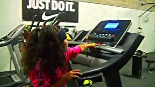 "getlinkyoutube.com-Baby Kaely  ""Workout""   7 years old"