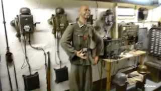 Soldados nazis en el gran bunker de Normandia ( 2 guerra mundial )