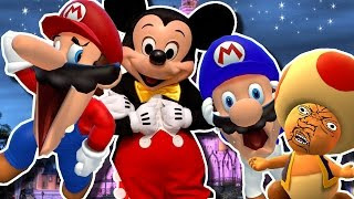 SMG4: Mario goes to DIDNEY WORL