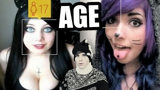 getlinkyoutube.com-How Old Do Popular YouTubers Look? (Aging Well vs Badly)