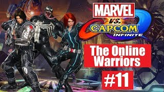 MVCI: The Online Warriors #11: DLC Charatcers Edition (Venom, Black Widow, & Winter Solider)