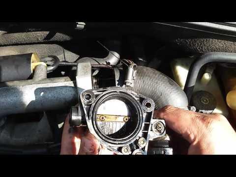 Renault Laguna 2 uszczelnienie urzadzenia gaszacego.