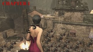 getlinkyoutube.com-Resident Evil 4 - Separate Ways (Welcome To Hell) Mode - Chapter 1 (New Game) HQ