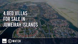 getlinkyoutube.com-Jumeirah Islands - 4 Bedroom Villas for Sale in Dubai