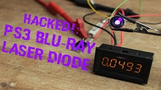 getlinkyoutube.com-HACKED!: PS3 Blu-Ray Laser Diode || Simplest Constant Current Source