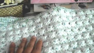 getlinkyoutube.com-Crafting update...crochet baby blanket