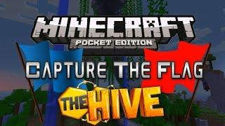 getlinkyoutube.com-Minecraft PE 13.0 Server - Survival Hive - Capture the Flag w/ 80+ People!