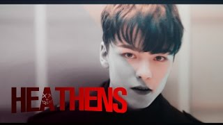 getlinkyoutube.com-SEVENTEEN - Heathens