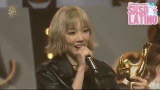 SNSD Taeyeon y Seohyun reciben el premio Digital Bonsang en GDA 2016 - SNSDLatino