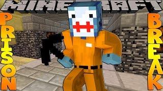getlinkyoutube.com-Minecraft PRISON BREAK - SECRET PHONE CALL TO SCUBA STEVE!!!