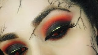 getlinkyoutube.com-5 Witches for Hansel & Gretel Collab  - Chinese Witch Makeup