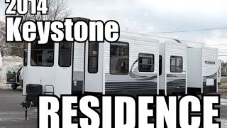 2014 keystone residence 404dn | park model travel trailer