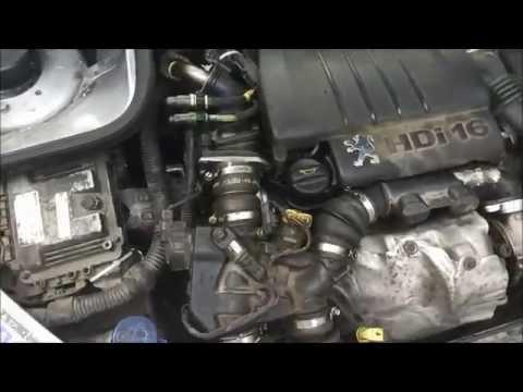 Где находится ремень кондиционера у Peugeot 3008
