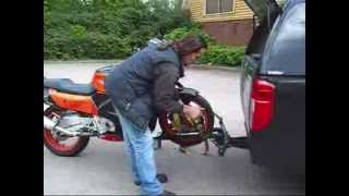 getlinkyoutube.com-(UP-DATED)MOTORCYCLE LOADING  BIKE CARRIER.wmv