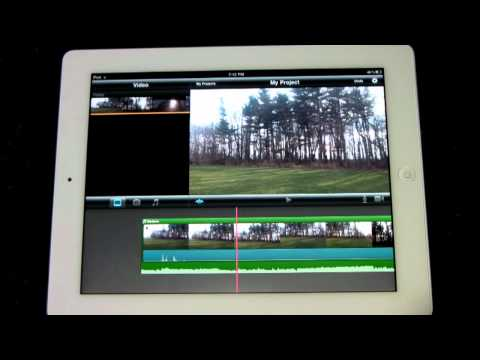 iMovie App Review for iPad 2