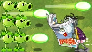 getlinkyoutube.com-Plants vs Zombies 2: New Extended Modern Day 43 New Zombies! (PvZ 2)